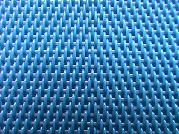 Finmasket filterbånd i polypropylen