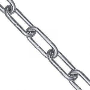Langleddet rustfri stålkæde