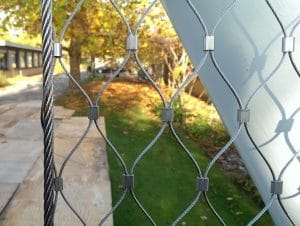 Webnet/wirenet sleeve afslutning rustfri stål